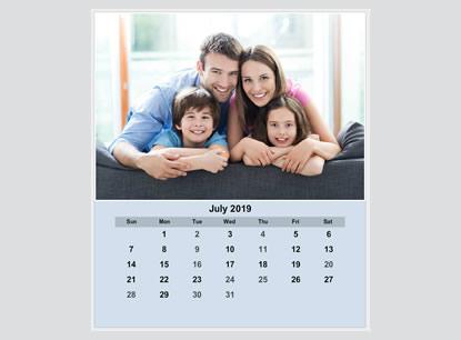 Create CD Case Photo Calendars, Custom CD Case Photo Calendars