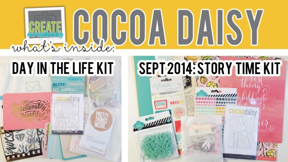 Create Scrapbooks What\u0027s Inside VIDEO SEPTEMBER 2014 - Cocoa Daisy