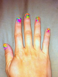 C.R.A.F.T. # 82: Tie Dye Nails {nail design} {marble nails ...