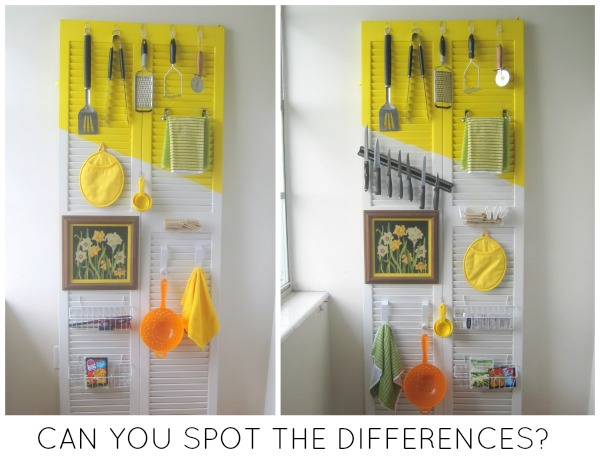How To Organize A Kitchen With A Door Craft