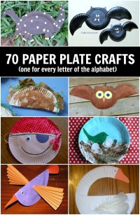 Paper plate crafts for kids (A-Z) - C.R.A.F.T.