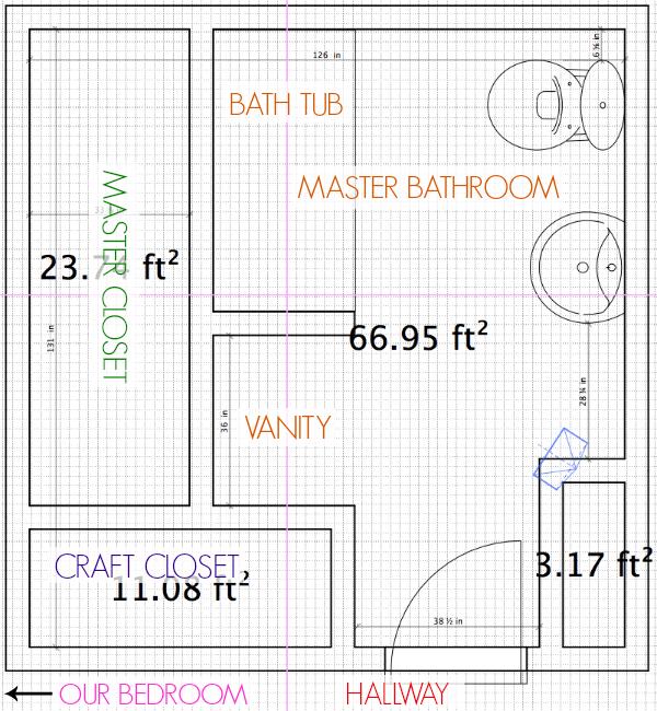 Bathroom Remodel: Choosing Tile For Bathroom {Part 2} - C.R.A.F.T.
