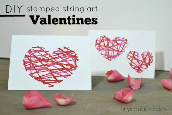 Valentine crafts Easy string art - CRAFT