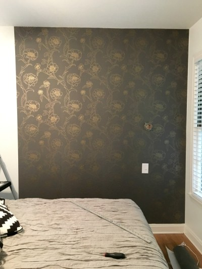 How to Apply Removable Wallpaper - C.R.A.F.T.