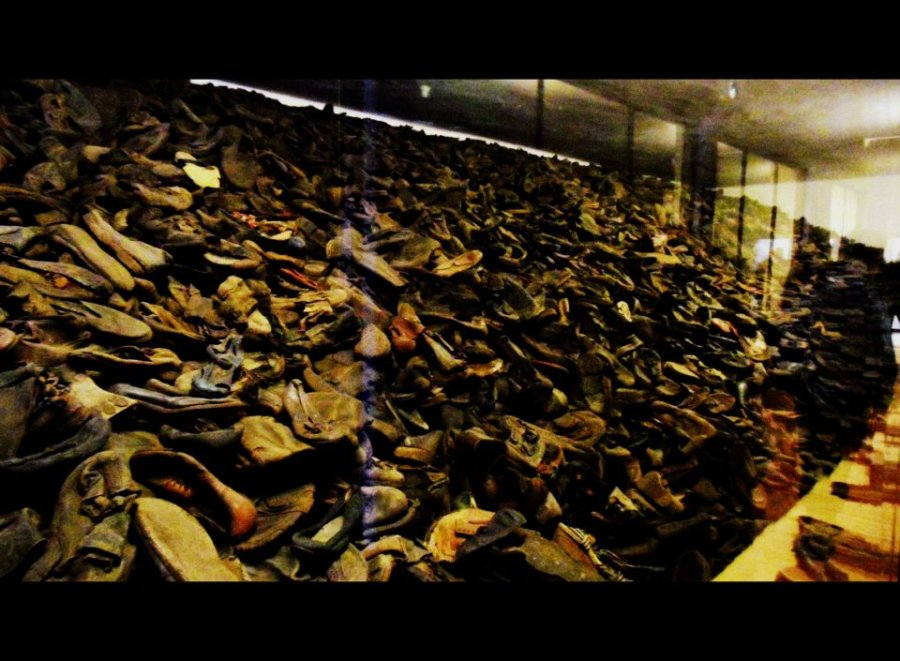 Steve - Auschwitz - shoes
