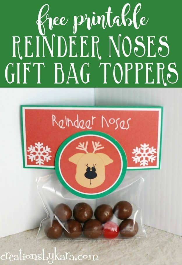 Easy Christmas gift- Reindeer noses