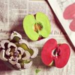 Ştampile din fructe şi legume – 18 idei creative, usor de pus in practica