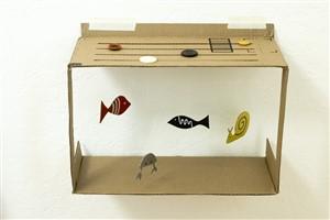 acvariu de carton - o lume de vis pentru copii din cutii de carton -