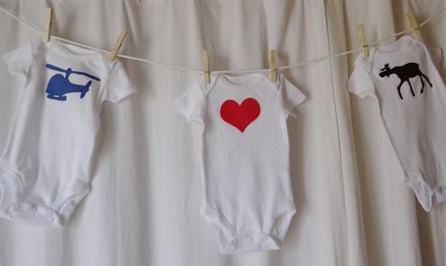 Baby Shower Activity Idea Decorate Onesies! - onesies designs