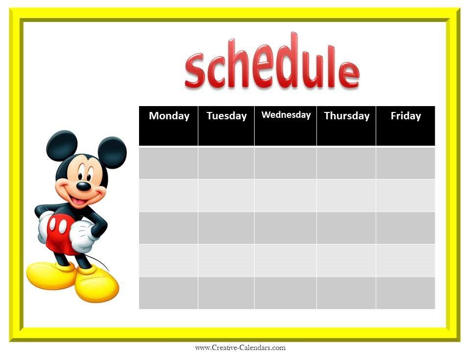 Make Your Own Calendar Personalized Custom Photo Calendars Printable Weekly Calendar