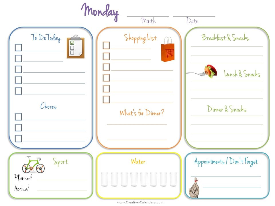 weekly to do list template - fototango - weekly to do list template