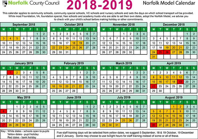 Term Dates | Drayton Community Infant School