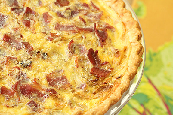 Quiche Lorraine with Caramelized Onions   Creative Culinary