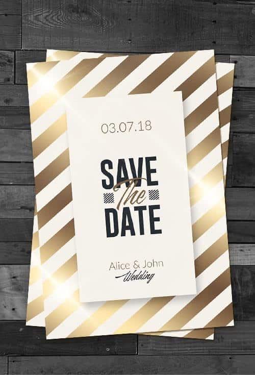 Customize Wedding Templates Psd Invitation ~ Creative Flyers