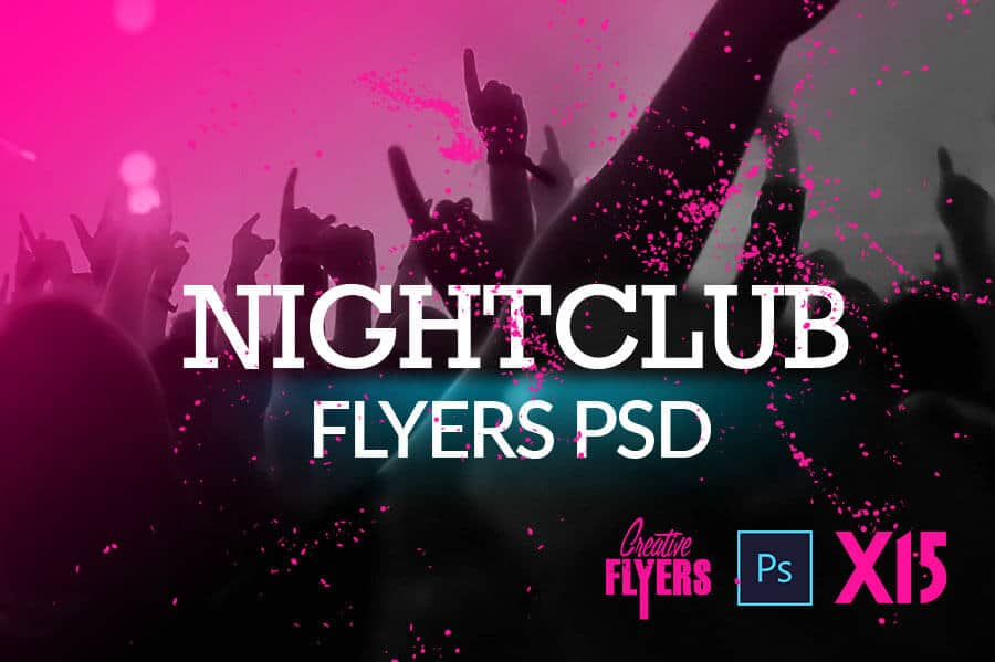Top 15 PSD Night Club Flyer Templates - CreativeFlyers - club flyer background