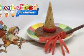 cappello e scopa della befana