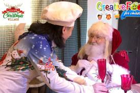Viterbo christmas village – corsi di cucina per bambini