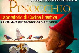 Pinocchio- laboratorio di cucina per bambini – Food art a Roma