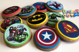 biscotti dei supereroi