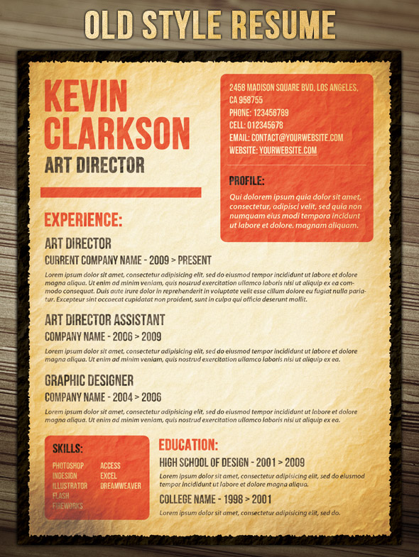 21 Stunning Creative Resume Templates - graphic designer resume template