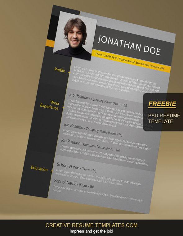 Free Modern CV Template