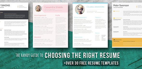 Free Beautiful Resume Templates to Download Instantly - beautiful resume templates