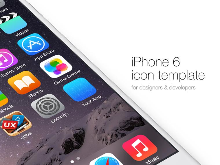 iPhone 6 Icon Mockup \u2013 Creative Alys