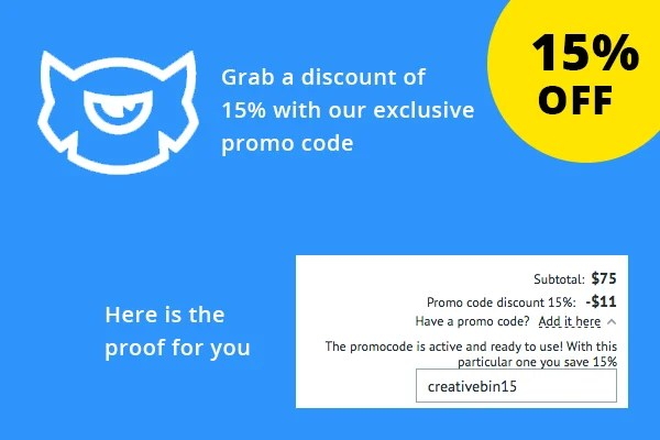 TemplateMonster Promo Code 2018  EXCLUSIVE 15 Off Coupon - discount coupon template
