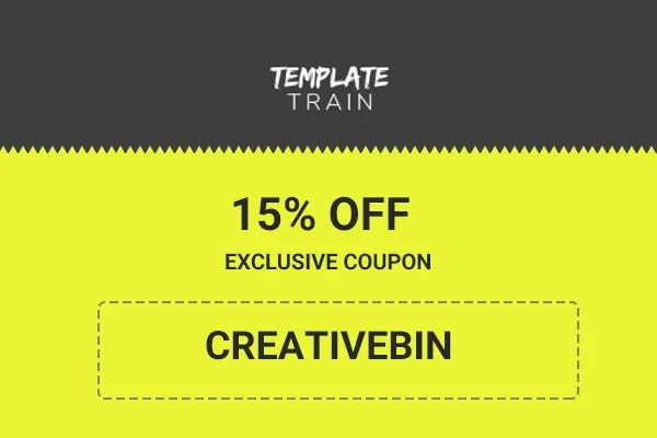 Template Train Coupon 2017 15 OFF Exclusive Promo Code - coupon template