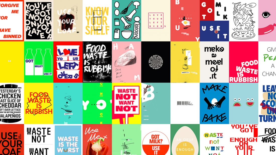 Designers at venturethree create graphic poster series to highlight