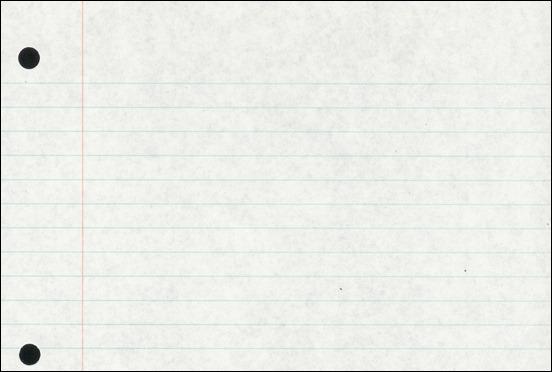 Loose Leaf Paper Background - Resumelistgagraph paper office school