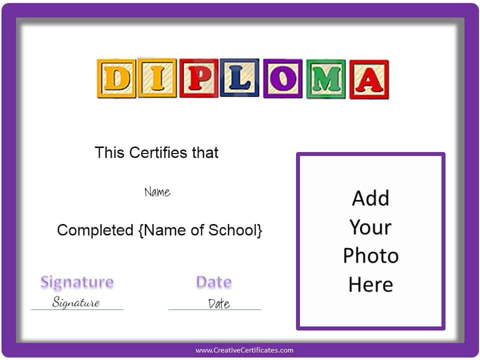 preschool graduation certificates free printables - 28 images - free