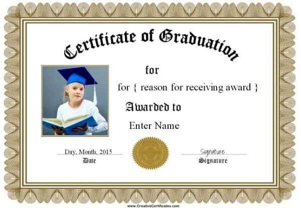 sample graduation certificate - Onwebioinnovate - Graduation Certificate Paper