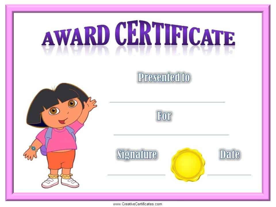 Certificates for Kids - Free and Customizable - Instant Download
