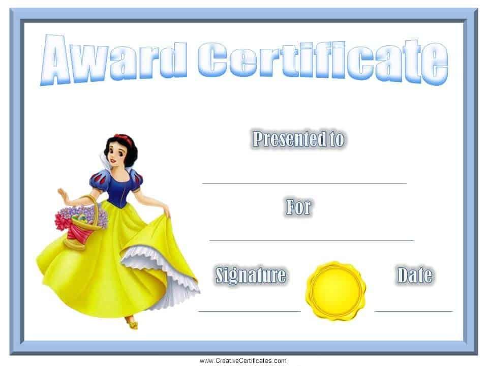 award-certificate-snowwhitejpg 960×720 pixels Awards Pinterest - cv resume builder