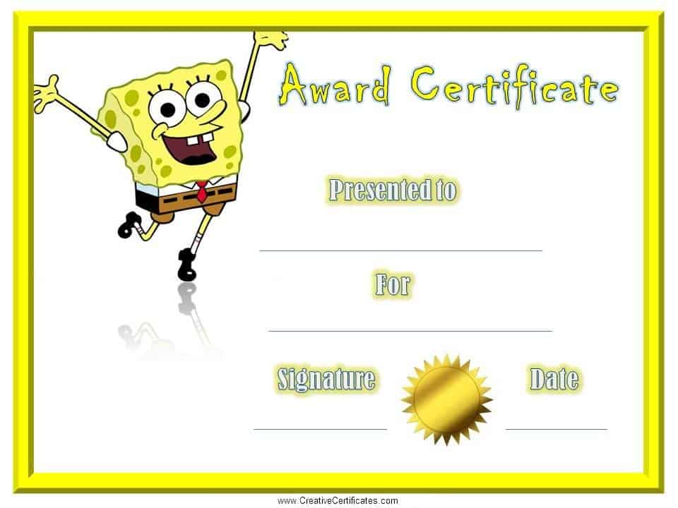 Childrenu0027s Certificates - free and customizable - certificate template for kids