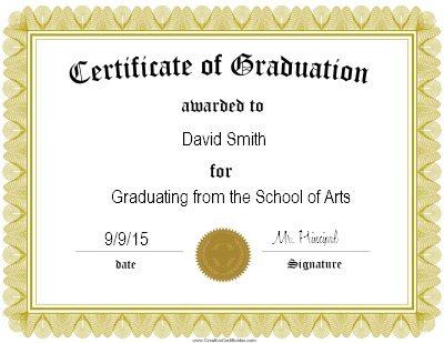 blank graduation certificate - Alannoscrapleftbehind - Graduation Certificate Paper