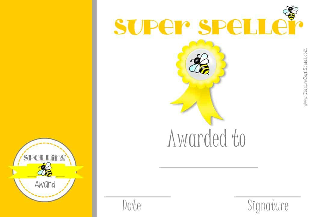 1st Place Certificate Templates - Contegri - first place award template