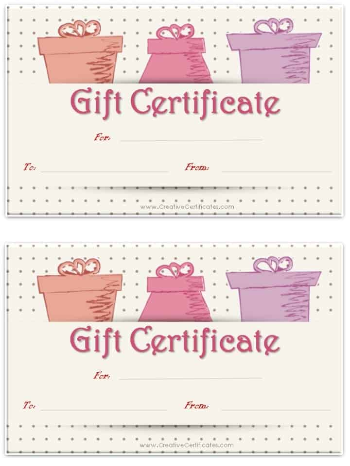 photo session gift certificate ideas Photography Pinterest - free printable vouchers templates