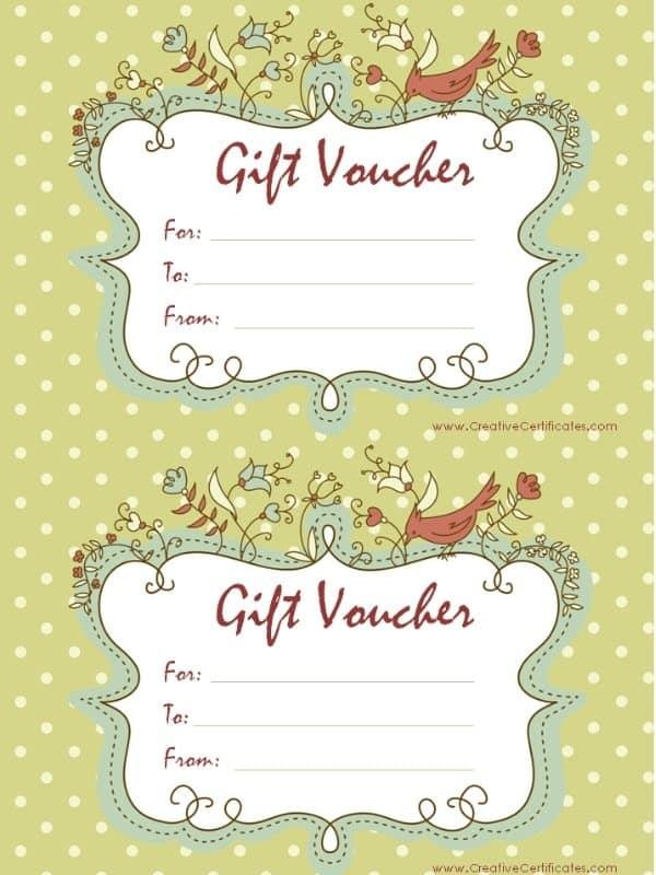 vouchers template