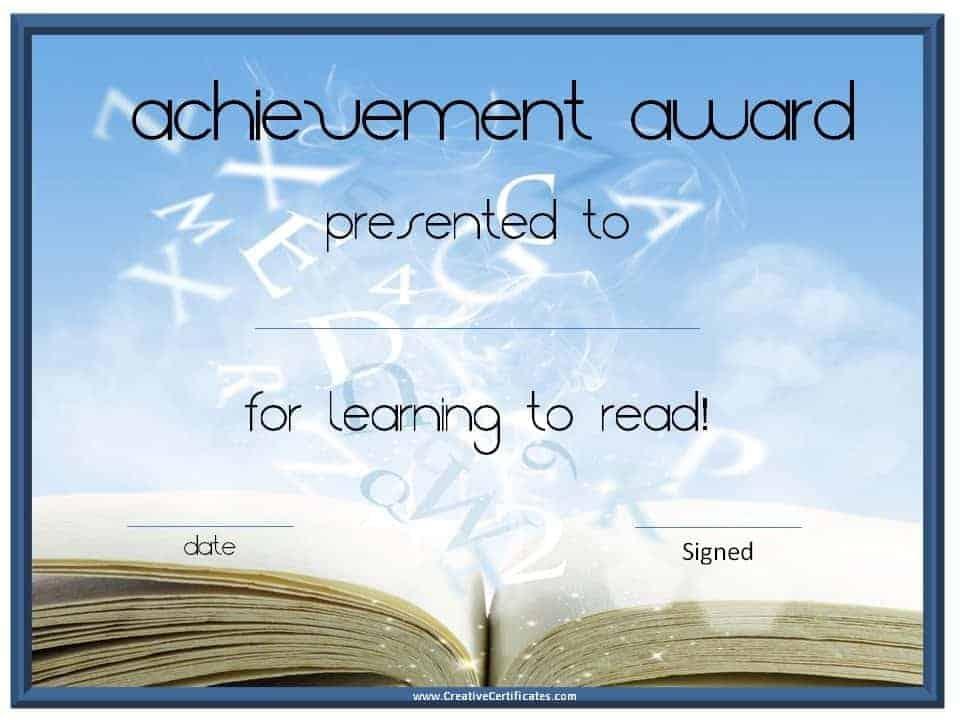 free certificates to print