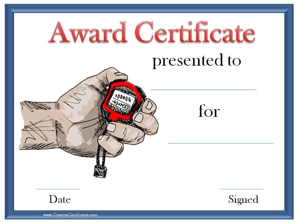 Printable Award Certificates Certificate Maker - Terryberry - certificate template for kids