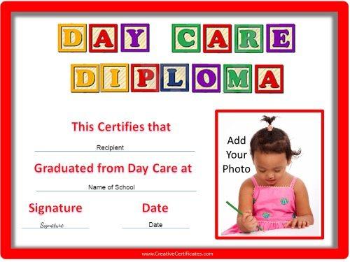 Preschool Certificates - Printable Preschool Diplomas