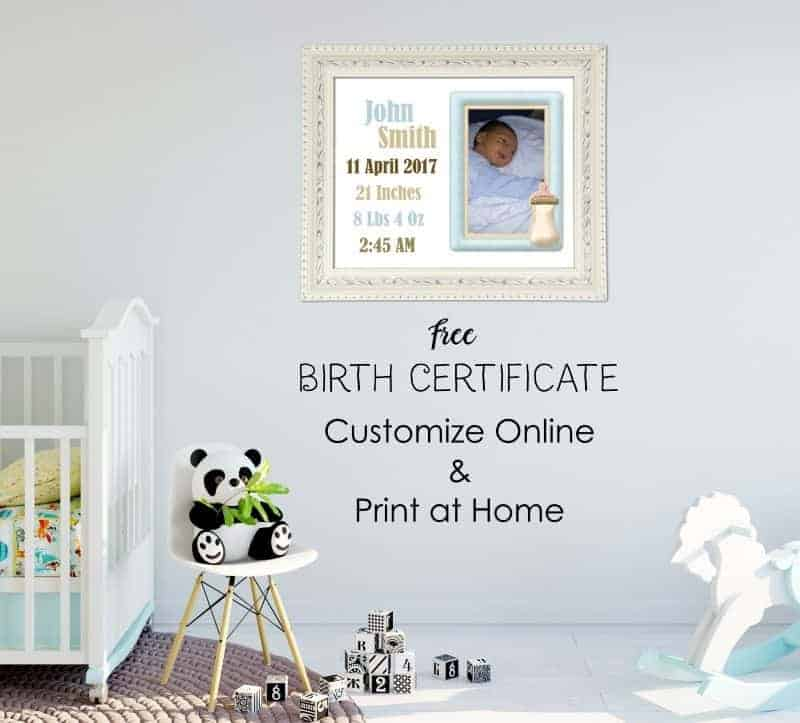 Birth Certificate Template - Birth Certificate Template