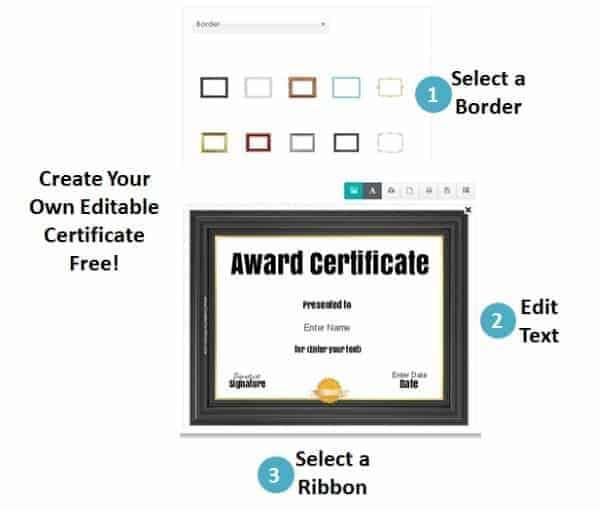 Free Online Certificate Maker - Award Maker
