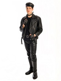 80s Biker Male costume
