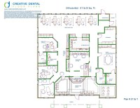 Creative Dental Floor Plans   Orthodontist Floor Plans