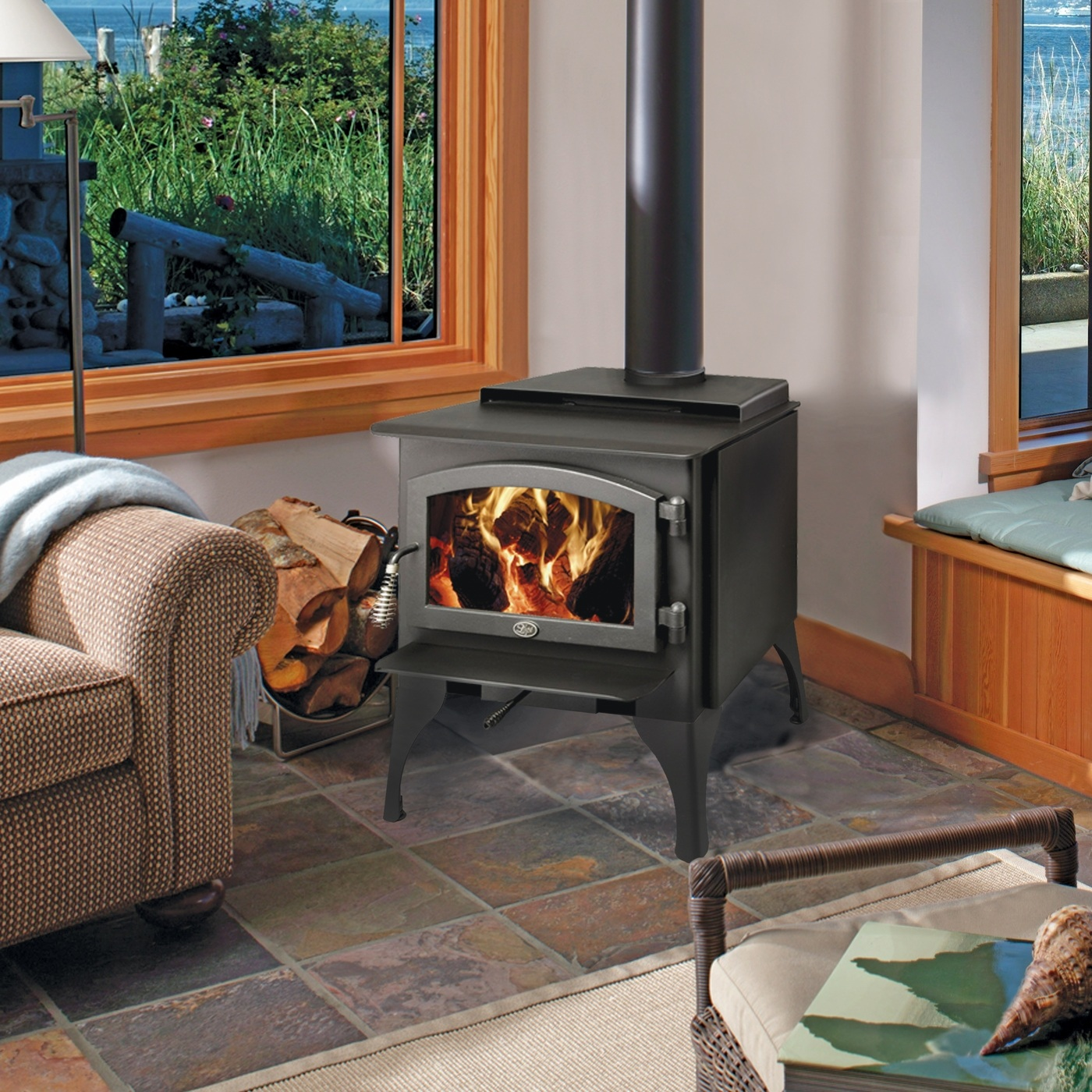 Lopi 1750 Wood Stove San Rafel Fireplaces Creative Energy