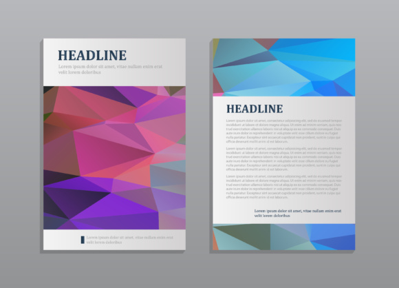 7 Abstract vector modern brochure design templates Graphic by - modern brochure design
