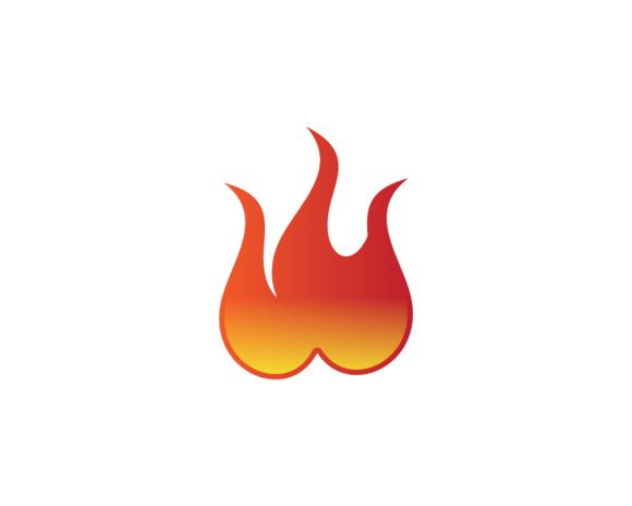 Flame logo Graphic by meisuseno - Creative Fabrica - flame logo
